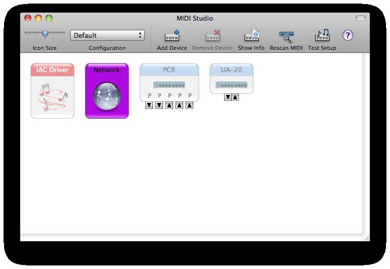 Setting up your Mac & MIDI STUDIO for wireless networking using Mac